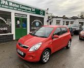 Hyundai I20 1.2 Comfort 5 Door Red